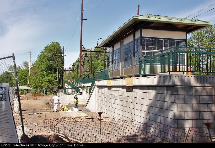 Yardley station progress